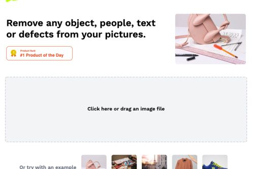 This free web tool is a fast and easy way to remove objects from images