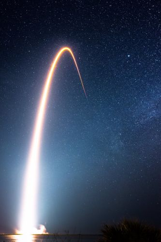 SpaceX: Falcon 9 Rocket's 10th Launch to Send 60 Starlink Satellites into Orbit